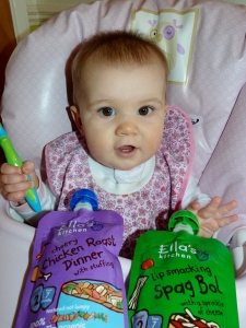 Review: Yummy Ella's Kitchen Baby Food for 7 months+