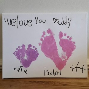 Crafty Valentine's Day Canvas