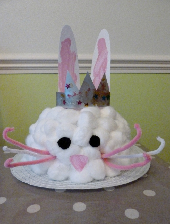 How to Make an Easter Bunny Bonnet