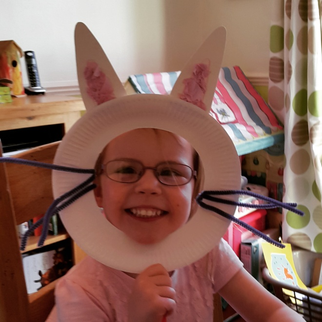 How to Make an Easter Bunny Rabbit Mask